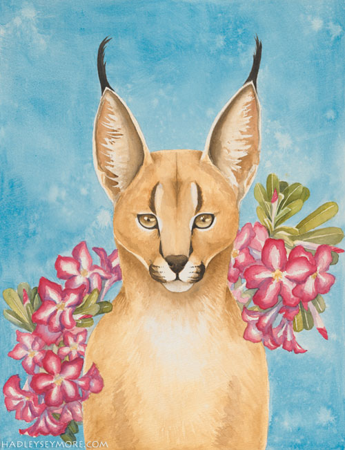 Caracal Totem by Hadley Seymore